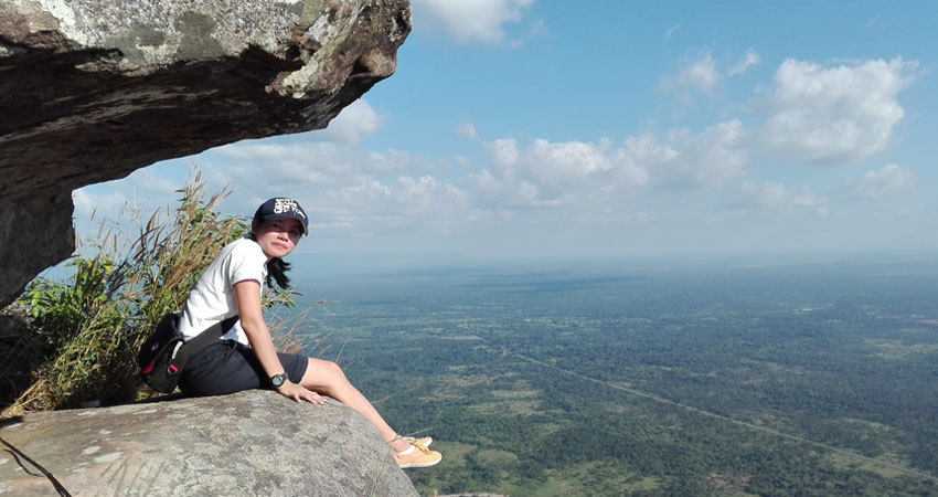 ON the Cliff of Preah Vihear