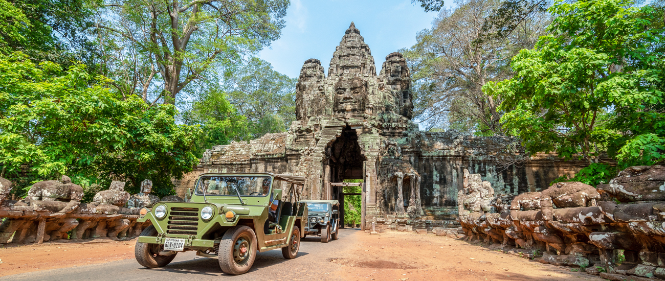 Angkor Wat Jeep Tour