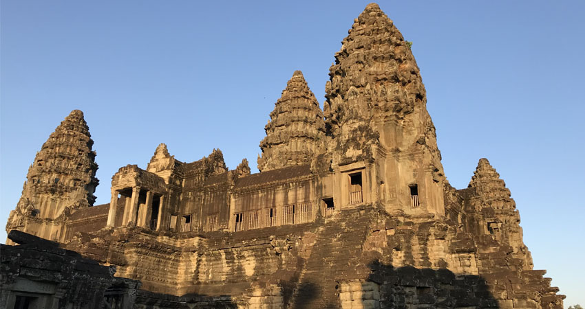 Central Towers of Angkor Wat