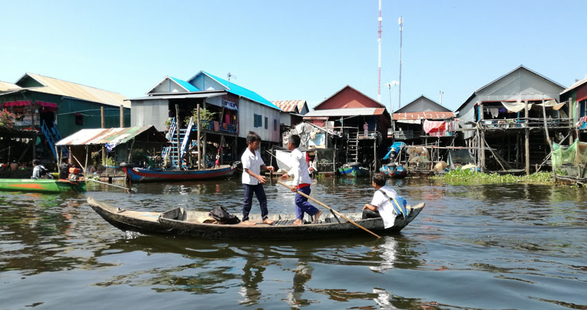 Kampong Pluk Fishing Village