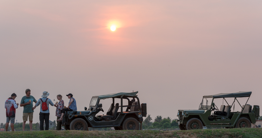 Countryside Sunset Jeep Experience