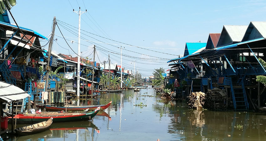 Kampong Pluk on Tonle Sap