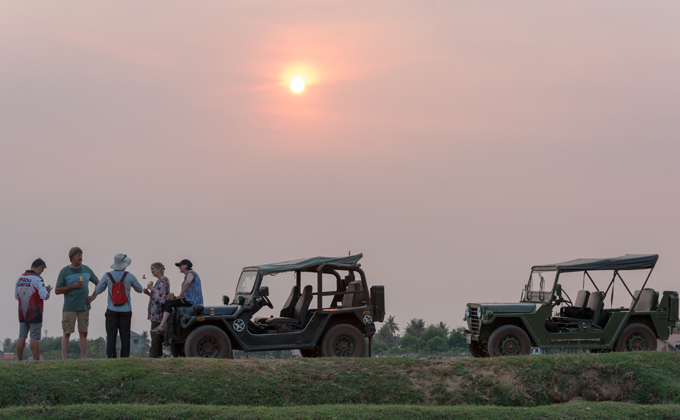 Countryside Sunset Jeep Tour